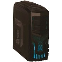 Exegate EVO-8203 Black-Blue Light 600W